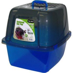 Van Ness Plastic Molding CP7TR Translucent Enclosed Cat Pan