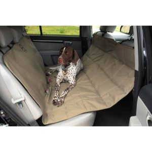 EB Pet Hammock Seat Protector in Tan