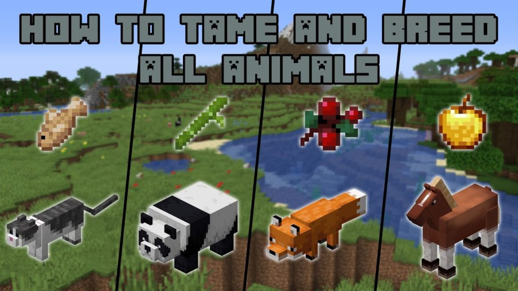 How To Tame And Breed All Animals In Minecraft Buy Your Pet Supplies Online